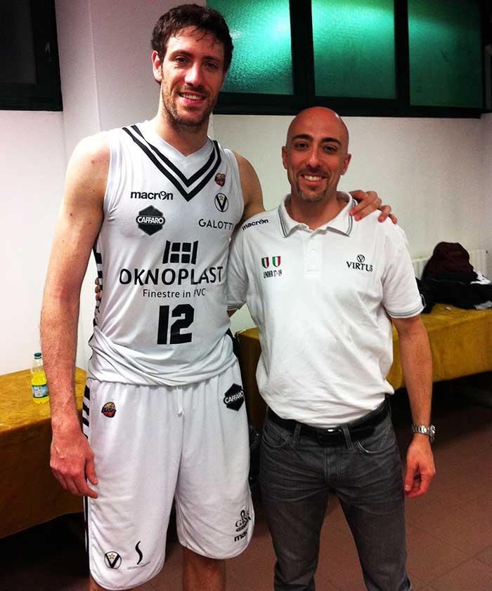 Giulio Altadonna e Angelo Gigli (Virtus Pallacanestro stagione 2012-2013)